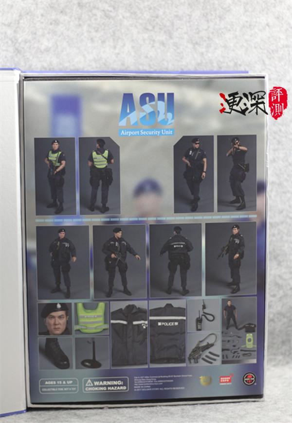 SS(SoldierStory)2017北京会场限定版本 ASU 香港机场特警 (1:6)开箱 简评 模玩 第5张