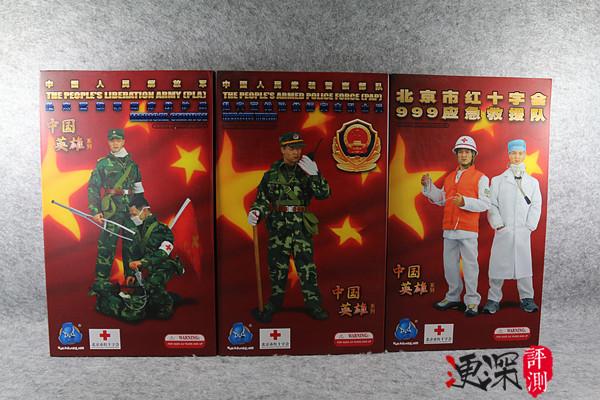 DID 中国英雄 系列 (包含限定卡)汶川9周年 开箱简评 二战和现代军事 第2张